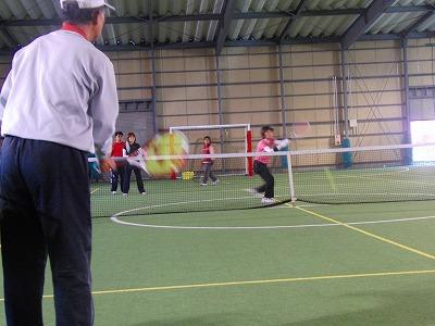 ポーチ練習