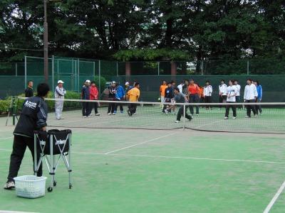 ボレー練習