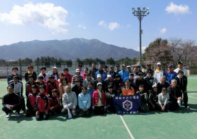 須坂市テニス協会全員集合