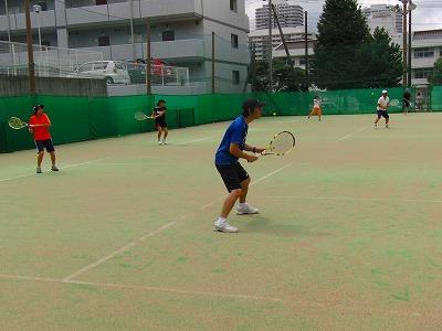 テニスだテニスだ