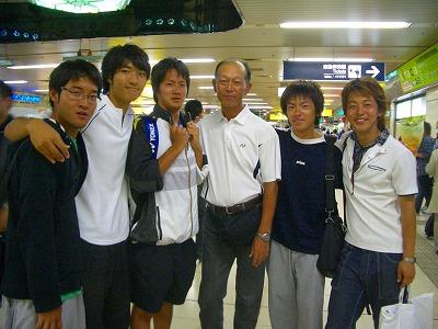 札幌駅で3年目たちと