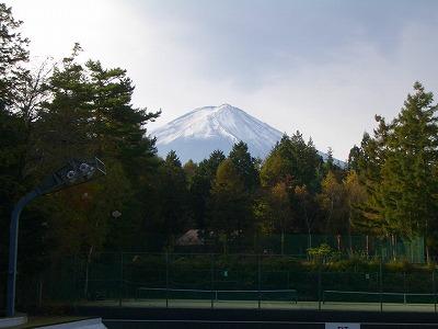 FIT前の富士山