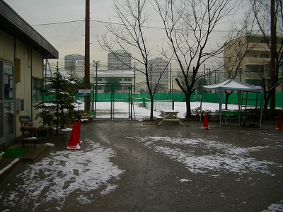 雪の東戸塚校