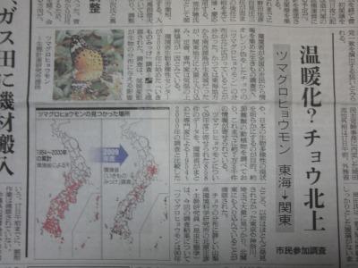 朝日の夕刊