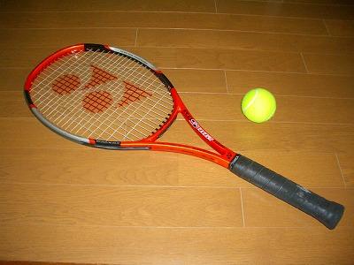 愛用のラケット